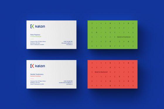 Kalon business cards