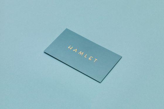 Hamlet business card