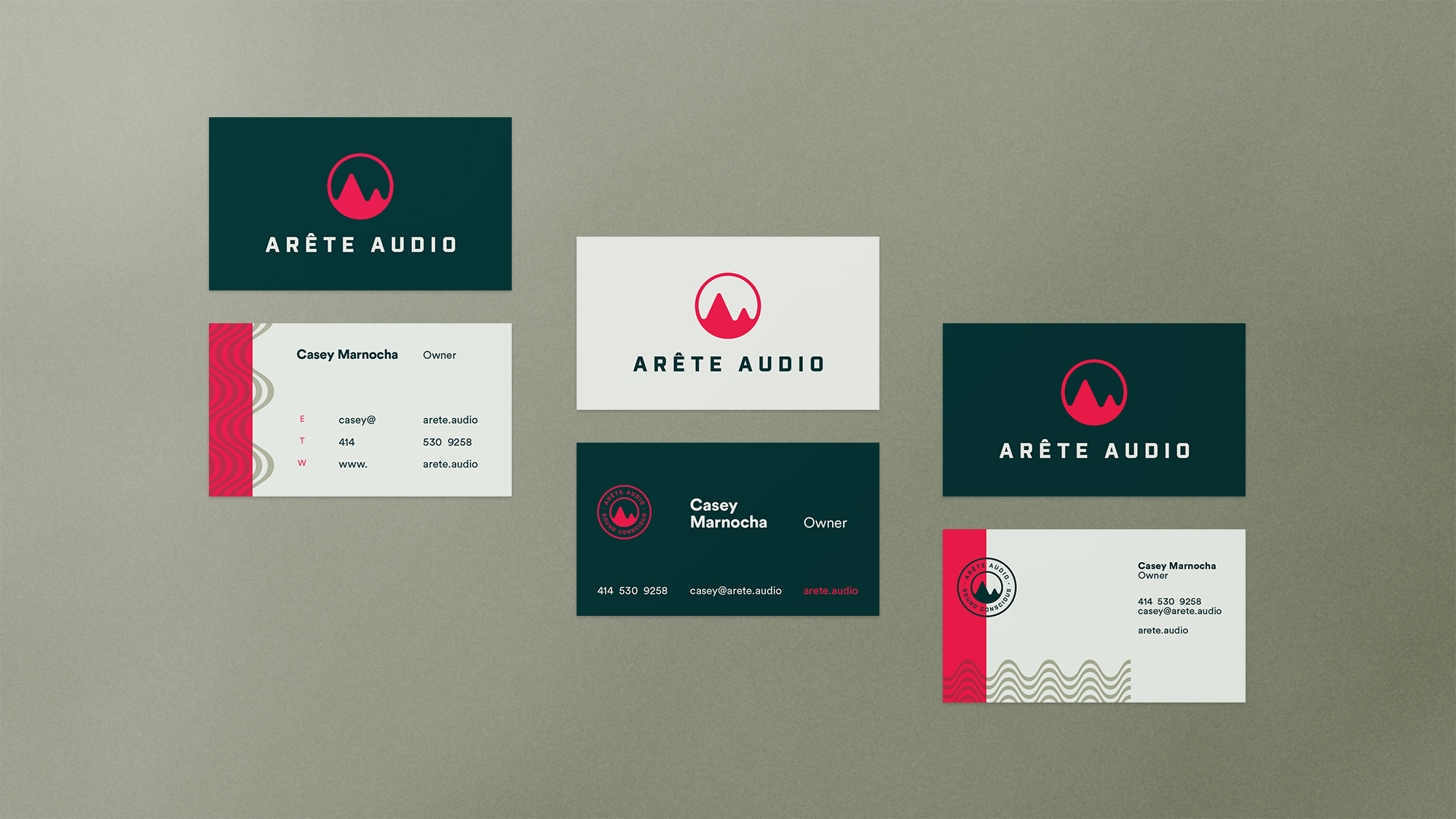 audio business card