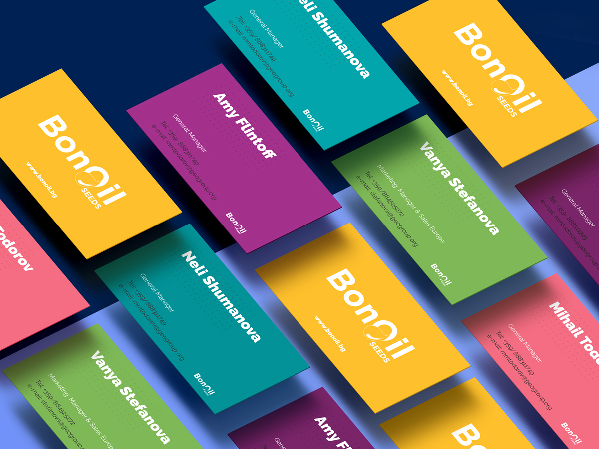 BonOil business cards inspiration - CardFaves
