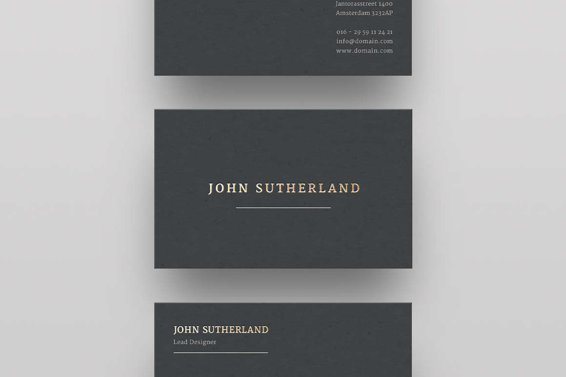 Stylish business cards inspiration cardfaves buy gold foil business card template reheart Images
