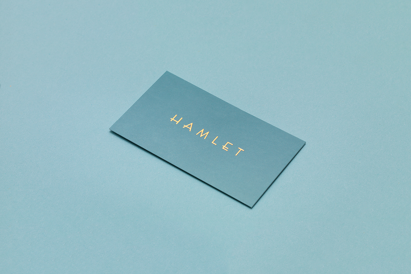 Blue business cards inspiration cardfaves hamlet business card colourmoves