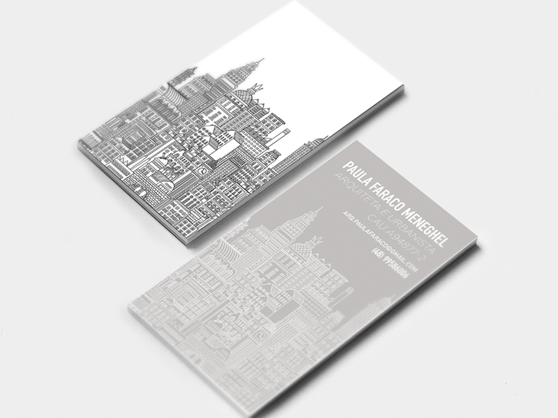 Architect business cards inspiration - CardFaves