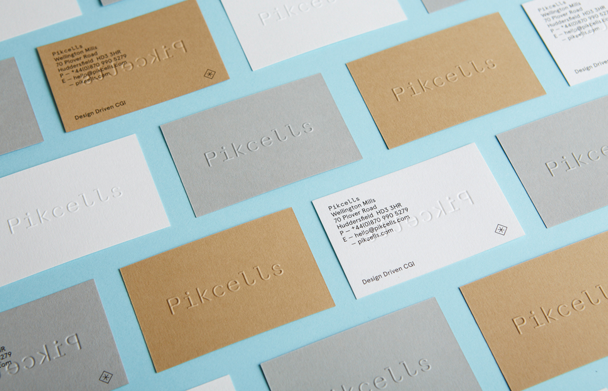 Pikcells business cards inspiration - CardFaves