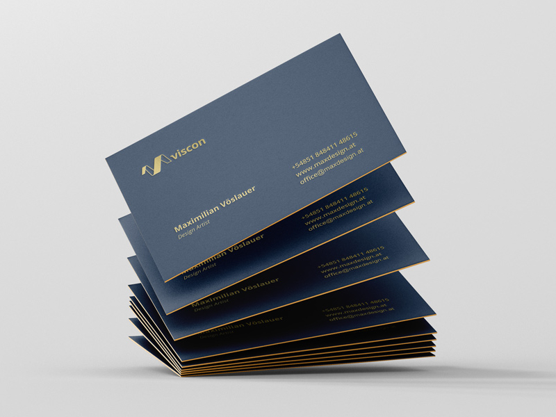 Viscon Design Business Cards Inspiration Cardfaves
