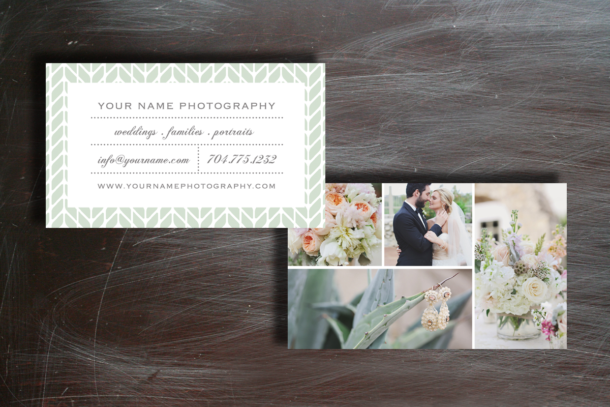 Wedding business cards inspiration - CardFaves