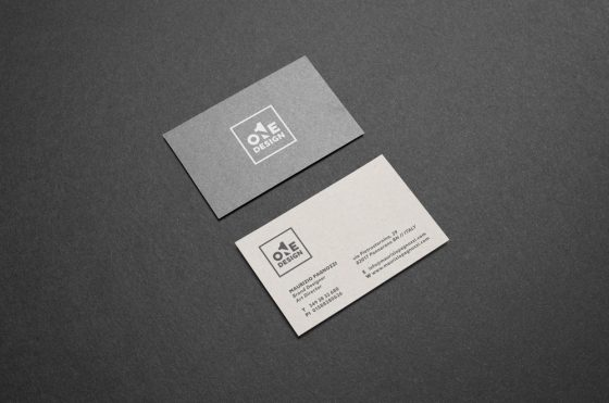 One Design business card