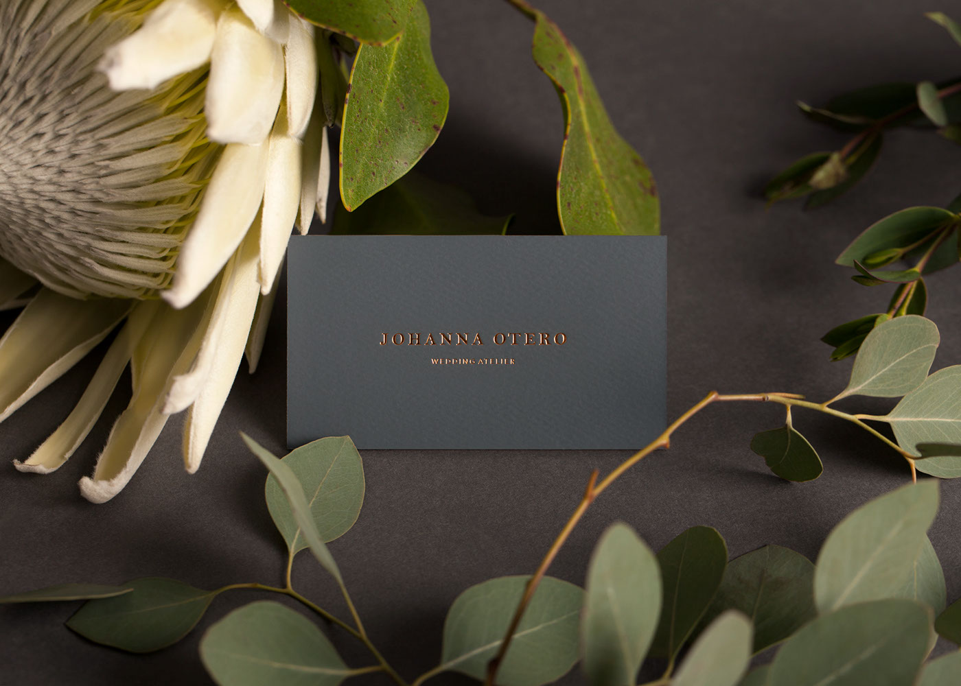 Business card of Johanna Otero