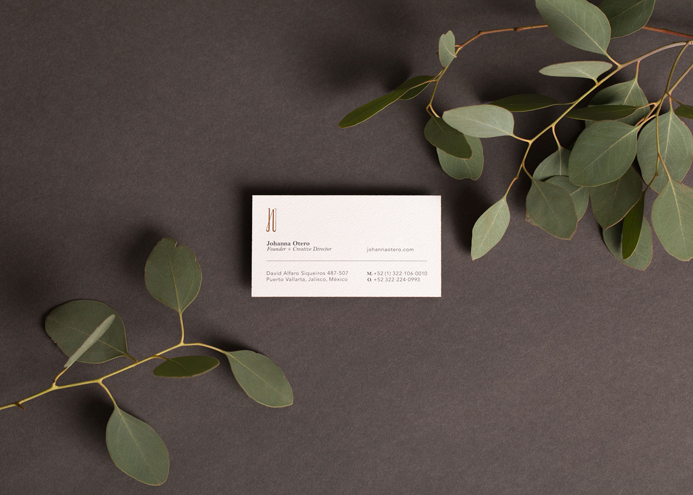 wedding business card