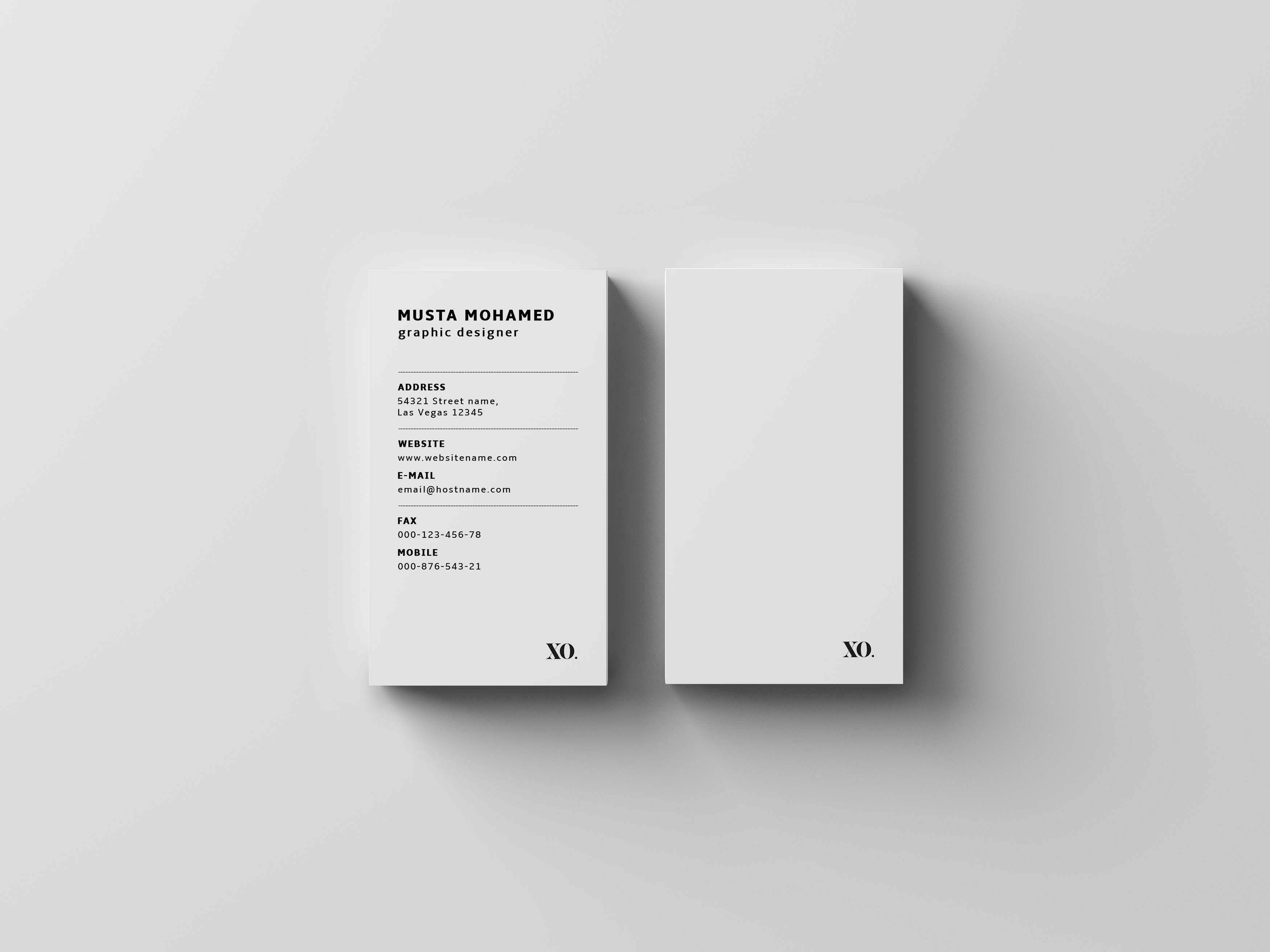 Luxury Business Card Template Inspiration Cardfaves