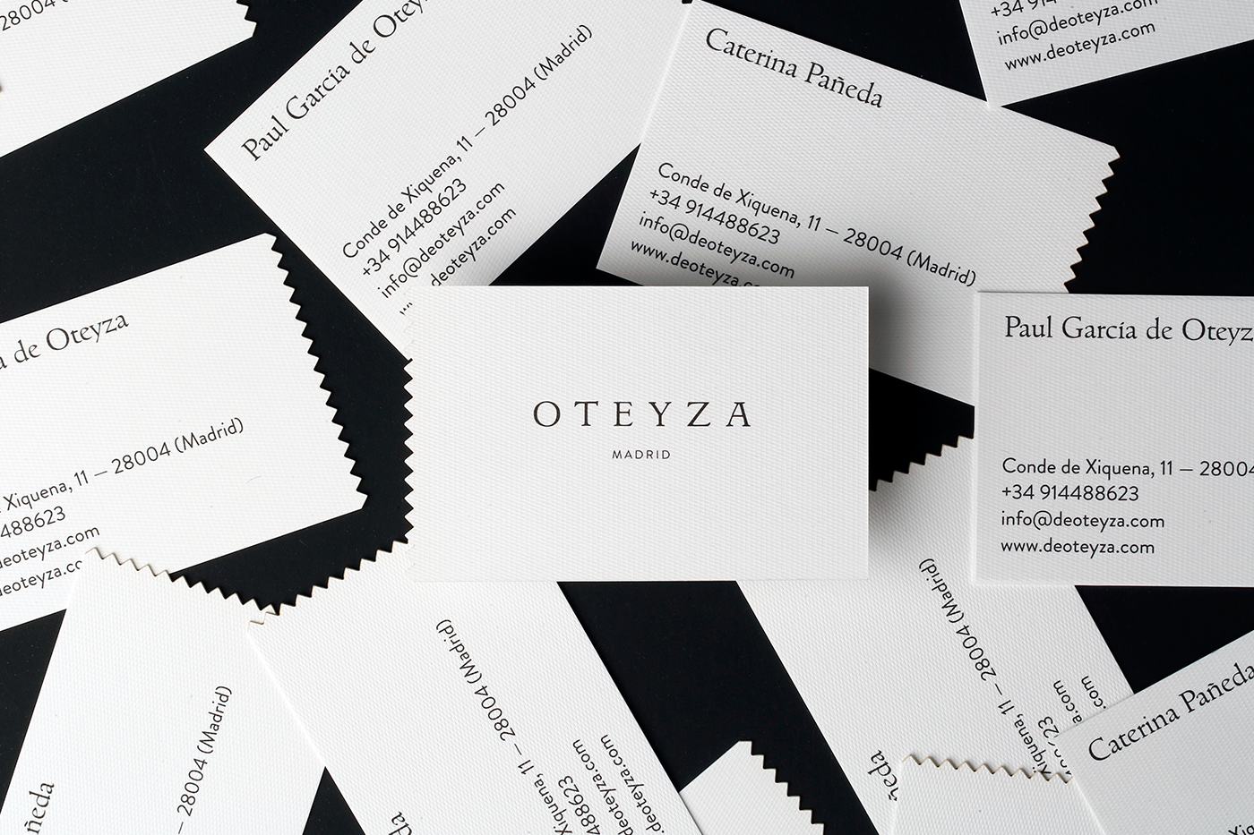 black and white business cards inspiration cardfaves