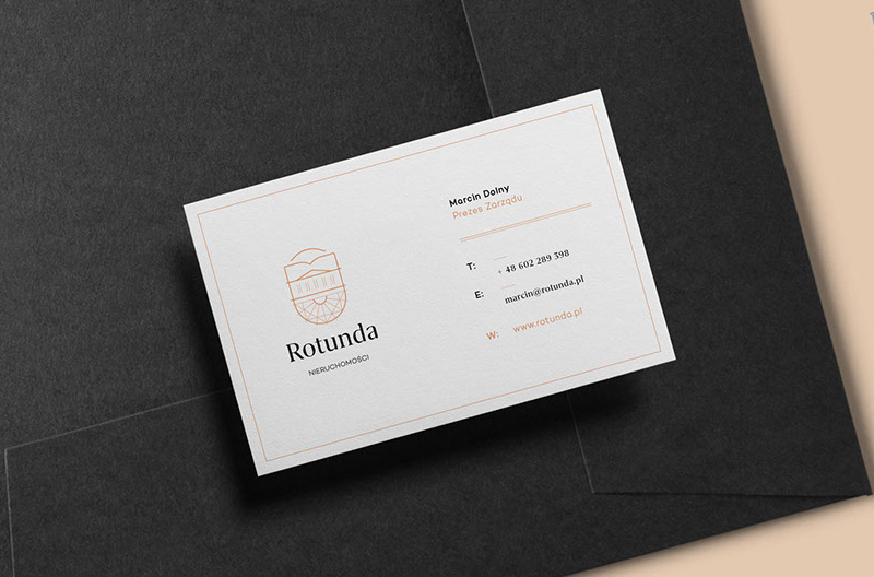 Rotunda business cards