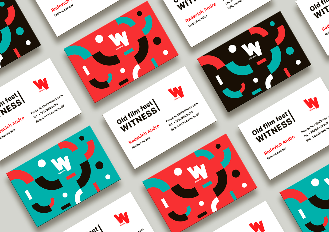 Colorful business cards inspiration - CardFaves