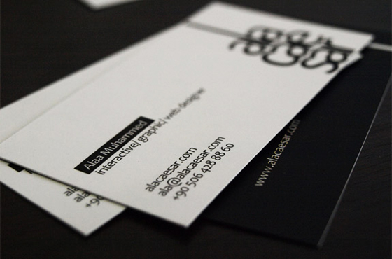 caesar business card