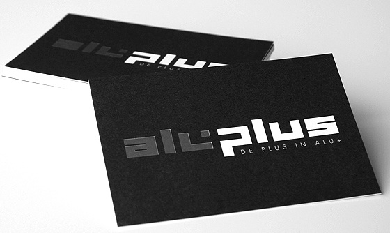 aluplus business card