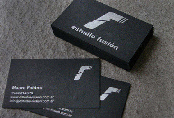 Fusion business cards inspiration CardFaves