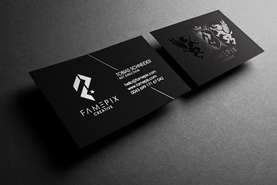 Famepix business card inspiration cardfaves spot uv business card reheart Image collections