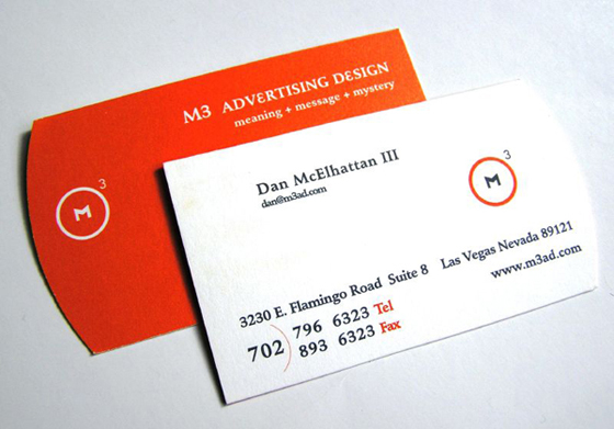 Business cards advertising or office expense