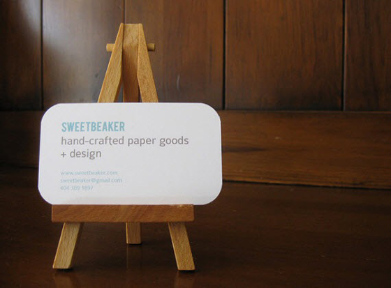 Hand Crafted Business Card