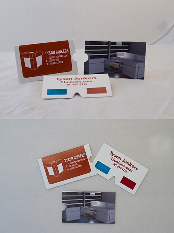 3D business card